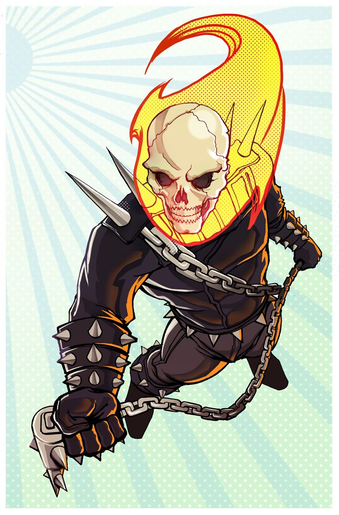 Ghost Rider - Marco D'Alfonso a.k.a. M7781