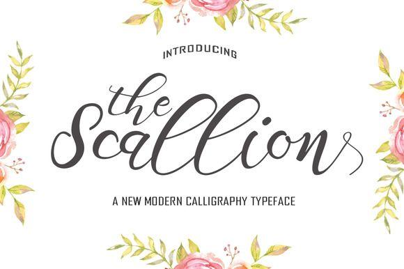 Scallion by Polem on @creativemarket