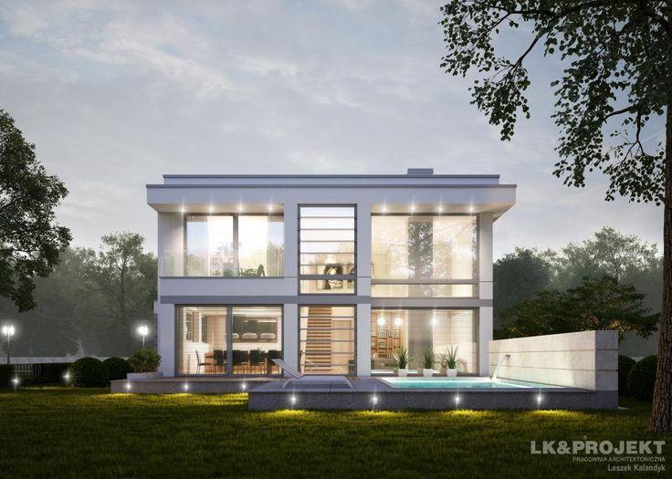 Projekty domów LK Projekt LK&1256 zdjęcie wiodące