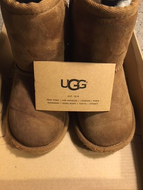 1a7643f887a UGG Classic Chestnut Toddler Boots Size 7 Used #fashion #clothing ...