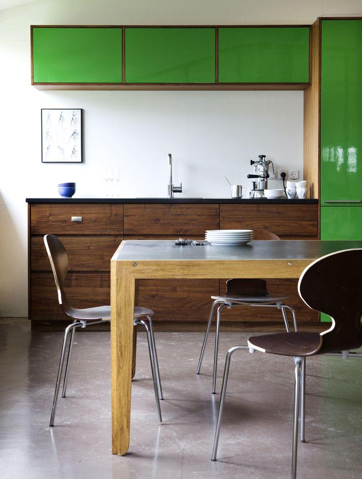Blendwerk - bord - overfalde - Desktop - Furniture Linoleum - Forbo - interior design - home decor - table #forbo #interiordesign #linoleum