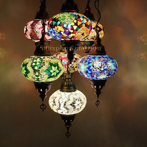 Craftsman Makes An Incredible Stained Glass Octopus Chandeliers