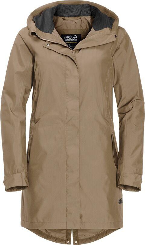 1c54ad4d056ba3 JACK WOLFSKIN Damen Outdoormantel Monterey Coat in 2019 | Kleidung ...