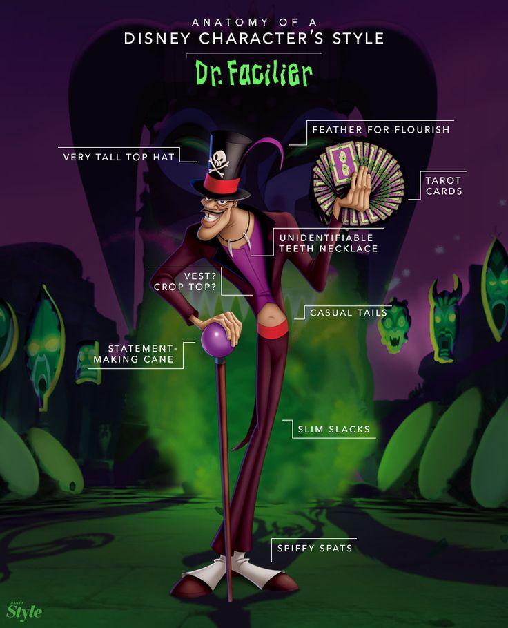 Dr. Facilier is one of those Disney villains who is just so evil, he *almost* makes it look cool.