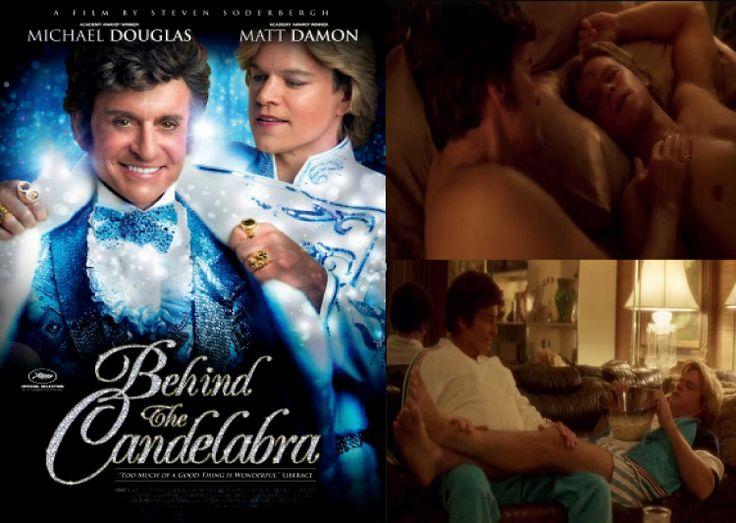 """Filme biográfico inspirado no livro """"Behind the Candelabra: My Life With Liberace"""", escrito por Scott Thorson, aborda o relacionament..."""