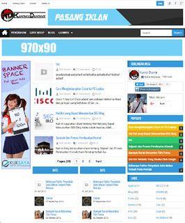 Themes Blogspot Gratis dan Premium
