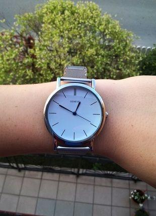 Kup mój przedmiot na #vintedpl http://www.vinted.pl/akcesoria/bizuteria/13952552-srebrny-zegarek-geneva-idealny-na-prezent