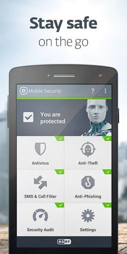 ESET Mobile Security & Antivirus Premium v3.5.71.0  Keys   ESET Mobile Security & Antivirus Premium v3.5.71.0  KeysRequirements:2.3.3 and upOverview:ESET Mobile Security is a premium cyber security solution that protects your smartphone and tablet.  After installing you automatically get to try all PREMIUM features for 30 days  without subscribing. Then you can upgrade to PREMIUM or continue with basic protection which is lifetime for FREE. BENEFIT FROM FREE FEATURES  On-demand Scan…