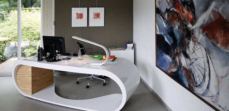Goggle desk by Babini office: buy the Italian office furniture online