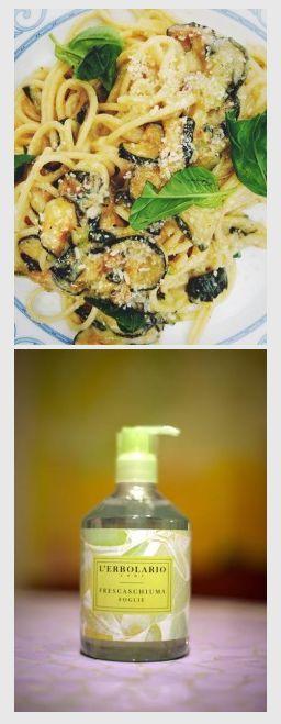 Drin drin ora di #mercolediveg! Il #cambiamenu di oggi ispirato per Alice Agnelli dall'Estratto di #basilico presente nel nostro Frescaschiuma Foglie, è un gustoso piatto di Spaghetti alle zucchine! E la cena di stasera sarà sana e #crueltyfree! http://www.erbolario.com/ricettevegane/ricette/49-Spaghetti_con_zucchine