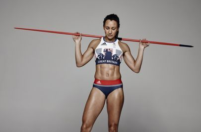 Team GB heptathlete Jessica Ennis-Hill