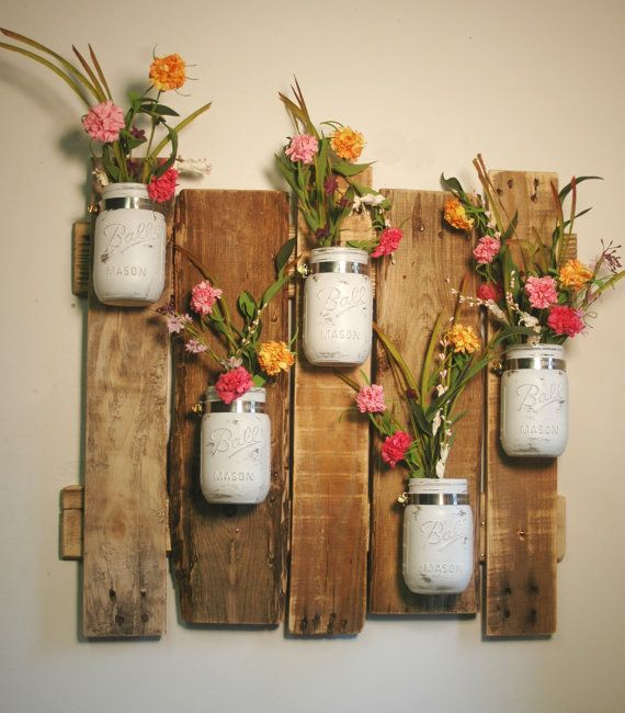 Farmhouse wall decor Rustic decor Pallet by PineknobsAndCrickets