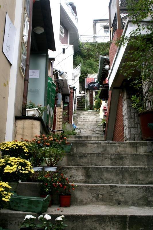 Bukchon alley, South Korea