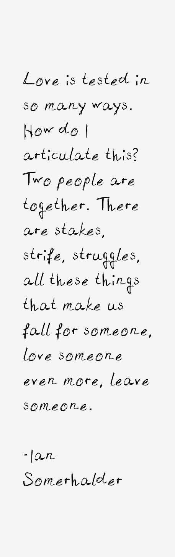Ian Somerhalder Quotes