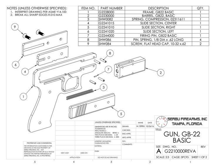GB-22 Plans – Serbu Firearms