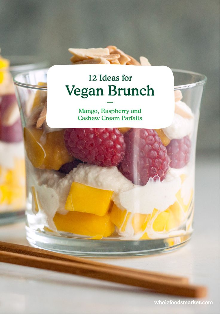 12 Ideas For Vegan Brunch