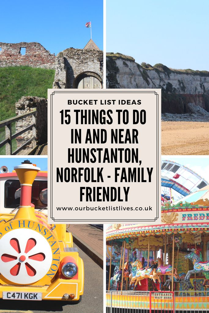 15 family friendly things to do in and near Hunstanton, Norfolk. Find out everything there is to see and do for your next holiday to Hunstanton #norfolk #hunstanton #seaside #familytravel #travelblogger #travel
