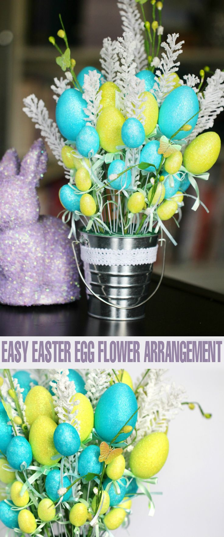 how to put together an artificial flower arrangment