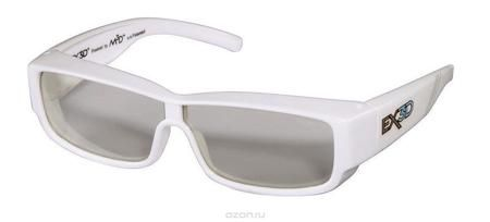 EX3D 1009/105 Parker 3D поляризационные очки  — 1125 руб. —  Очки EX3D Parker сочетают в себе запатентованную M3D технологию линз и стильный, модный дизайн. Данные очки помогают оптимизировать 3D-просмотр одновременно предлагая защиту от UVA / UVB лучей. Эта 3D-модель внешне не отличается от стильных солнцезащитных очков. Изящно изогнутые фотохромные линзы очков прекрасно адаптируются к условиям освещенности и на 100 % защищают глаза от ультрофиолета, когда вы находитесь на улице. Инновация…