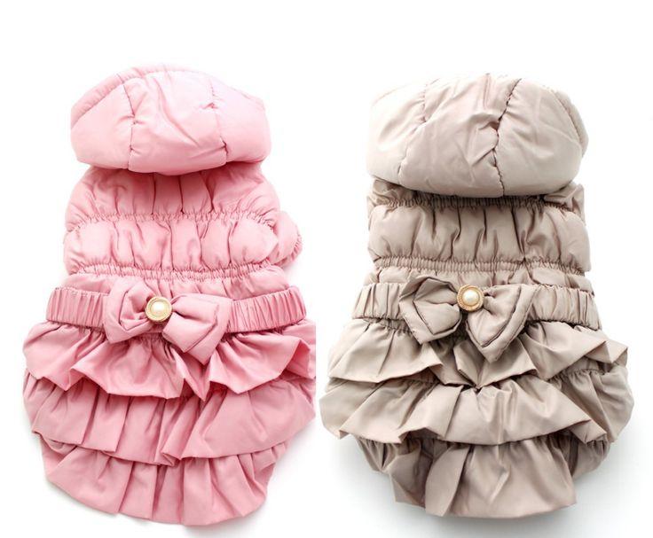 Купить товарБесплатная доставка! розовый / хаки pet зимние толстовки теплые пальто, одежда для собак, 5 имеющиеся размеры в категории Пальто и курткина AliExpress.            Материал: полиэстер                       Зима собака, собака одежда, Одежда домашних животных           Прим