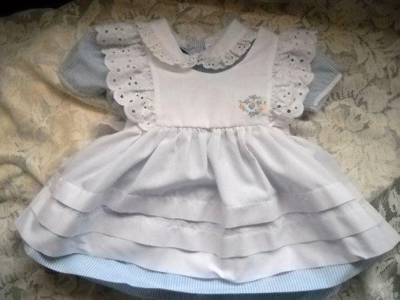 Light blue dress 4t 65e