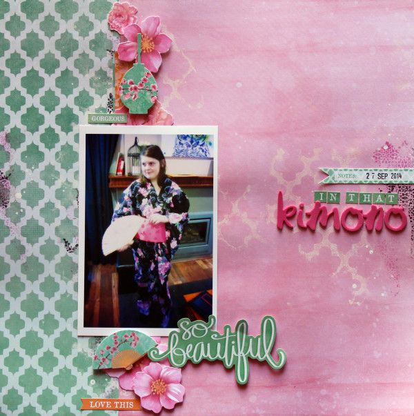 """Kimino Kaisercraft """"Cherry Blossom"""""""