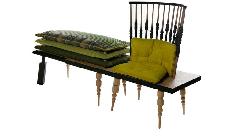 Here & There Couch - gorgeous idea!
