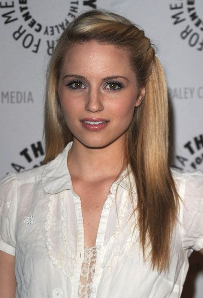 Dianna Agron In 27th Annual Paleyfest Presents Glee Perfect Hair