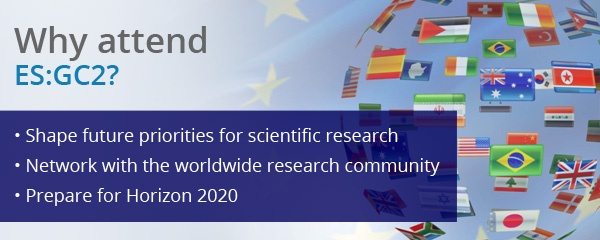 """EU Science: Global Challenges, Global Collaboration"" (ES:GC2) - 4 -> 8 March 2013 - BELGIUM"