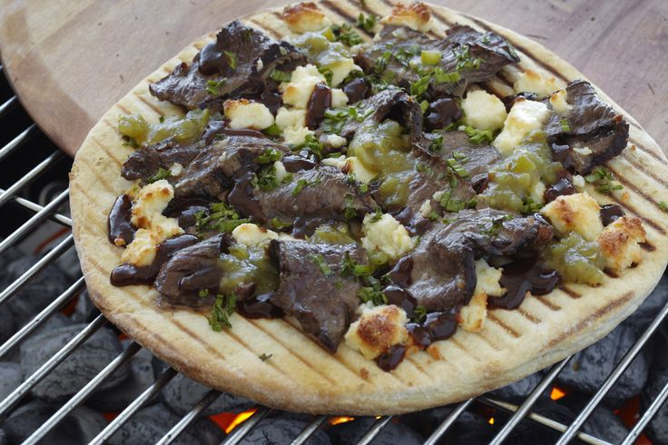 Cut down on cooking times by grilling your next pizza!