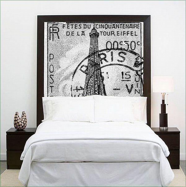 Quartos Designs, Ideias inspiradoras Cabeceira para o seu quarto: Paris Cabeceira Idea Interior