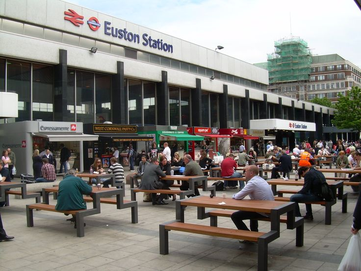 London Euston Railway Station (EUS) in London, Greater London http://www.falco.co.uk/news/four-years-on-and-still-going-strong/