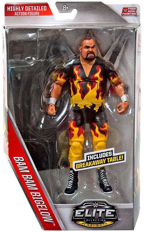 WWE Wrestling Elite Collection Then Now Forever Bam Bam Bigelow Exclusive Action Figure [Breakaway Table]
