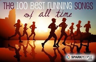 100 running songs to keep you going for miles! (this is a REALLY good list!) .