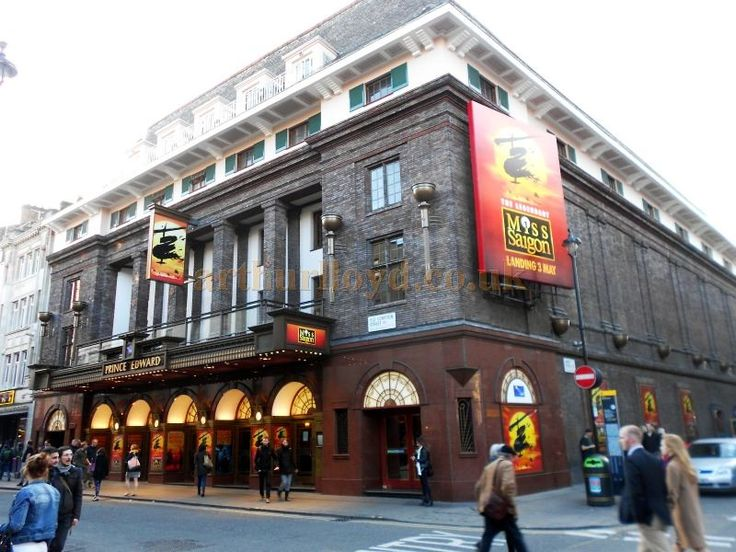 MS was the second show we saw during our 2014 trip.  OP: Miss Saigon @ Prince Edward Theatre, West End, London. ~ The Prince Edward Theatre during production for Cameron Mackintosh's revival of 'Miss Saigon in April 2014 - Photo M.L.