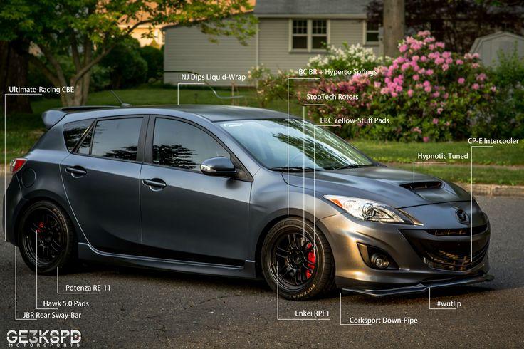 Mazdaspeed 3. Pinned by flanaganmotors.com|Missoula, MT