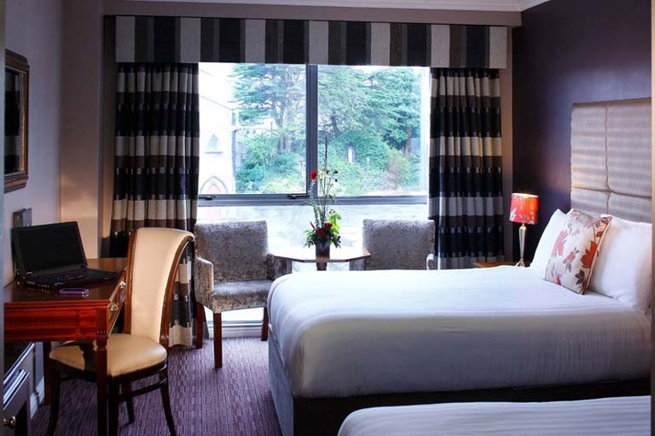 Forstercourt Hotel Galway Ireland - Twin Bedroom © David Cantwell Photography