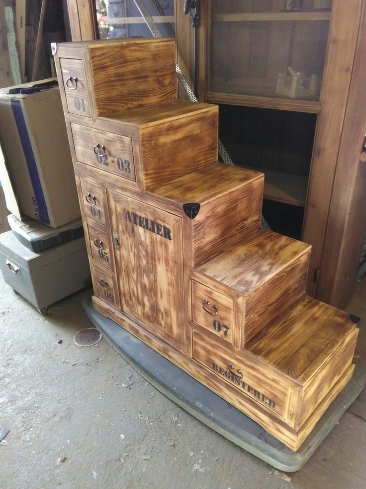 M s de 1000 ideas sobre meuble escalier en pinterest escalier pour mezzanin - Meuble en forme d escalier ...