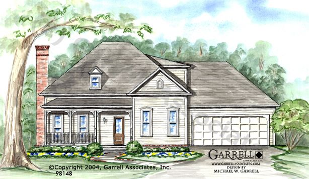 garrell associates inc thompson house plan 98148