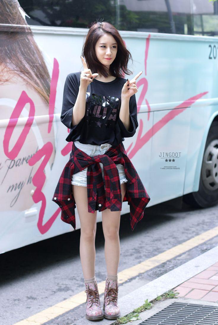 Jiyeon Tara Airport Fashion