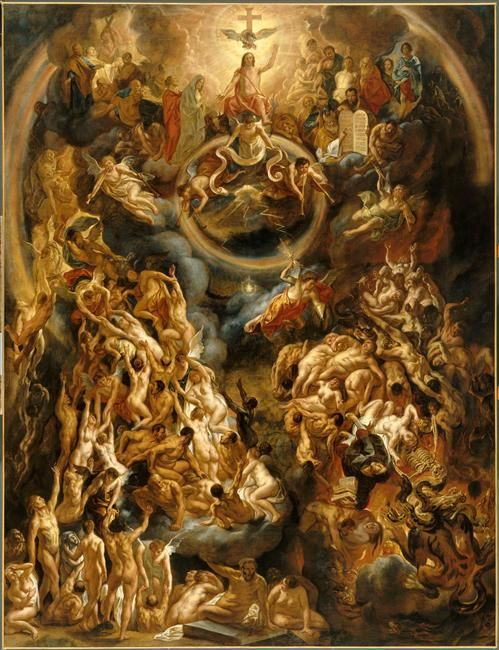 The Last Judgement / Le Jugement dernier / El Juicio Final // 1653 // Jacob Jordaens // © Musée du Louvre // Jesus Christ / Jesucristo