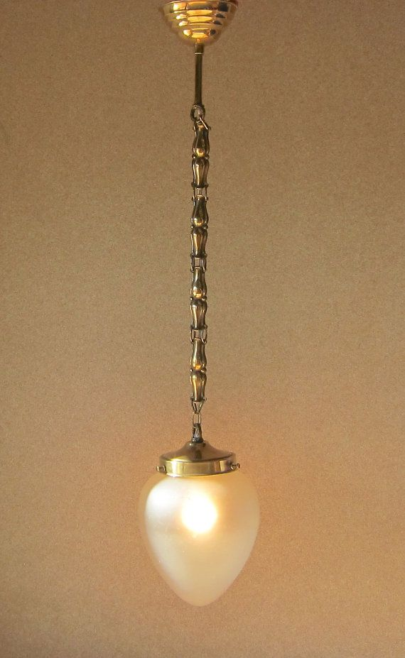 Antique bronze and frosted glass lamp re wired and in splendid condition vintage art deco ceiling fixture from