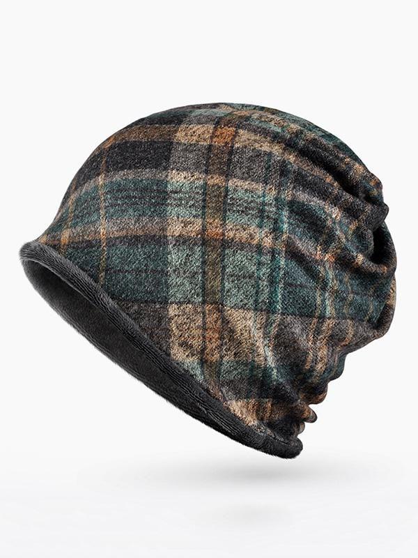 Beret Hats for Women Autumn Winter Cotton Ladies Striped Plaid Thin Section Forward Cap Mens Visor Great