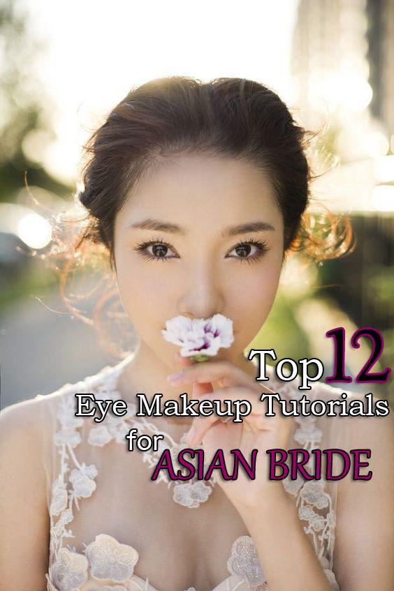 Top 12 Asian Eye Makeup Tutorials For Bride – Famous Fashion Wedding Design Idea - Easy Idea (2)