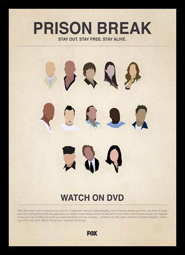 Quadro Poster Series Prison Break 2 - Decor10