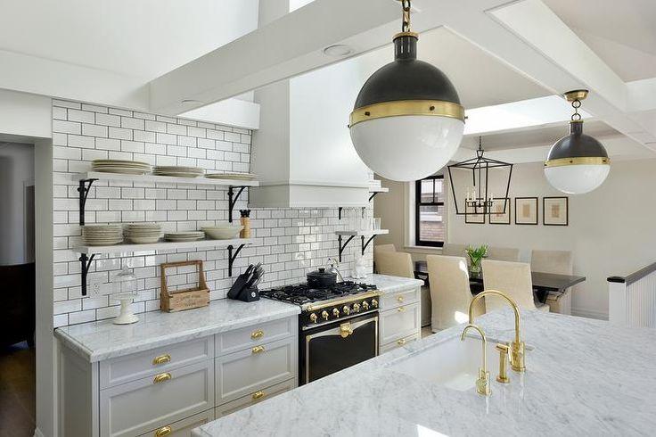 Benjamin Moore Smoke Embers Kitchen Cabinets