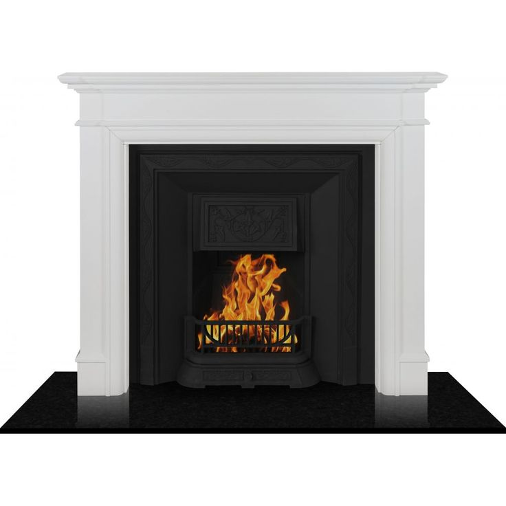Based on contemporary styles, this MDF mantle is a charming chimney piece certain to add a timeless charm to any living space.*Inserts Fascias are not included, they are sold separately*