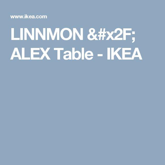 LINNMON / ALEX Table - IKEA