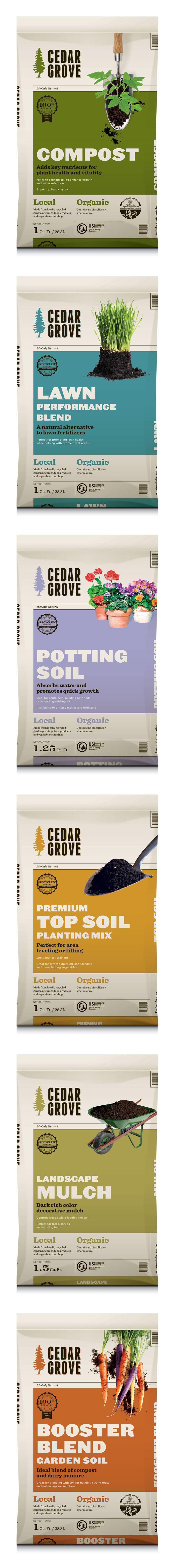 Cedar Grove. Nice #packaging for dirt : ) PD