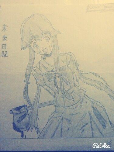 Mirai Nikki - Gasai Yuno